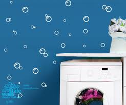 Wall Transfers For Bathroom Laundry Wall Decals Bubble Wall Decals For Bathroom