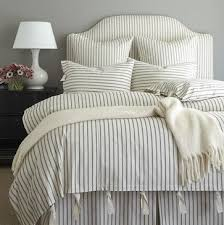 White Stripe Duvet Cover 45 Best Ticking Stripe Duvet Cover Images On Pinterest Ticking