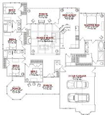 5 bedroom single house plans trendy 7 5 bedroom house plans one floor plan bedrooms
