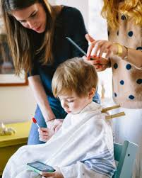 kids angle haircut how to cut a child s hair a cup of jo
