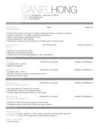 examples of resumes sample resume for no experience college