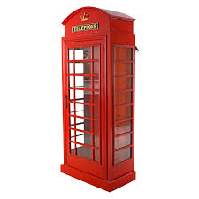 photo booth design toscano telephone booth display accent cabinet