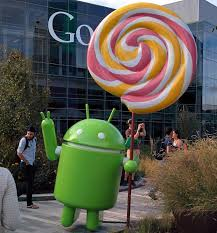 android statues the android lollipop statue go up on s lawn