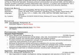 parole officer sample resume example guard resume resume sample