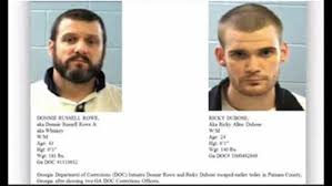 suspects in georgia officers u0027 deaths stole 2nd vehicle police