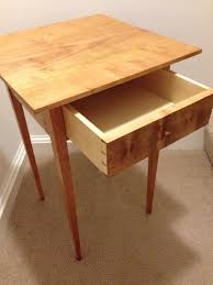 schwartz table chris schwartz shaker end table by lblack2x4 lumberjocks