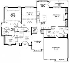 4 bedroom house blueprints beautiful 4 bedroom house plans home design ideas