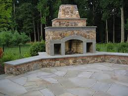 Outdoor Fireplace Chimney Height by Patio Fire Chimney Ideas