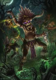 diablo 3 witch doctor by deivcalviz on deviantart fantasy