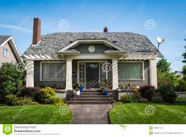 american craftsman house stock images image 30652734