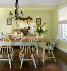 Country Style Dining Table And Chairs Dining Rooms - Country style kitchen tables