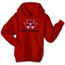 massey ferguson men u0027s applique logo hoodie usfarmer com