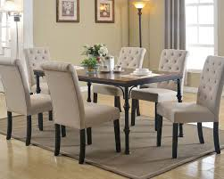 Acme Dining Room Sets by Dark Oak Dining Set Vriel By Acme Furniture Ac71580set
