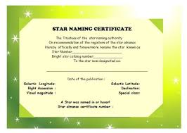 fun certificate templates star naming certificate templates 14 free official looking