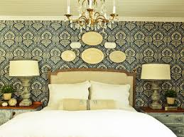 Wallpaper For Home by How To Install A Fabric Feature Wall Hgtv