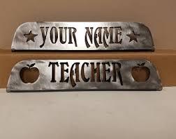 desk name plate etsy