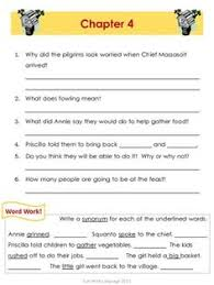 reader s journal and comprehension questions for each chapter of