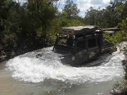 land rover water land rover overland trek to oz