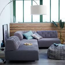 west elm tillary sofa tillary 6 piece sectional tufted west elm