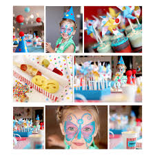 Kids Birthday Party Decoration Ideas At Home Red Yellow Blue Carnival Theme Birthday Party The Sweetest Occasion
