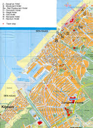Map Of Netherlands The Hague Map
