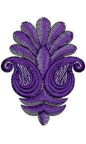 pot leaf embroidery design 17102