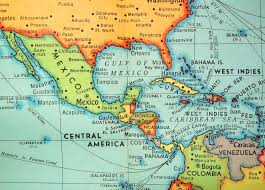Central America Map With Capitals Spanish Speaking Countries And Their Capitals South America At