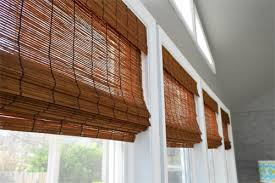 Bamboo Curtains For Windows It S Gettin In Hur So Add Some Bamboo Blinds House