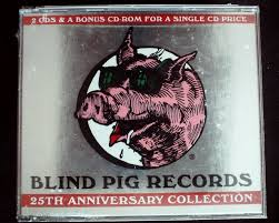 Cd Player For Blind Various Artists Blind Pig Records 25th Anniv Collection Usa