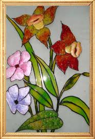 Flower Glass Design 161884 Ideas For Beauty And Unique Decoration Glass Painting Ideas