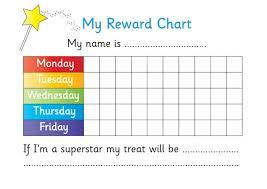 printable reward chart for teachers kiddo shelter