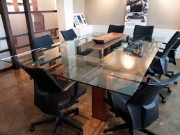 Timber Boardroom Table Hagan Architects Inc Timber Steel Conference Table