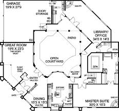 Luxury Mansion House Plan First Floor Floor Plans Best 25 Courtyard House Plans Ideas On Pinterest Courtyard