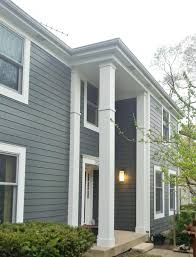 Hardie Board by Exterior Design Cozy Horizontal Hardie Plank Siding In Gray With