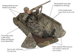Layout Hunting Blinds Wildfowler Outfitter Layout Blind Ballisticproducts Com