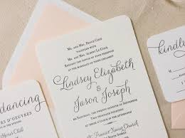 customized wedding invitations the verbena suite letterpress printed wedding invitations