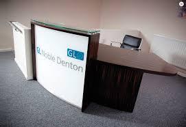 Illuminated Reception Desk Illuminated Reception Desk Laminate Commercial Lb1 L