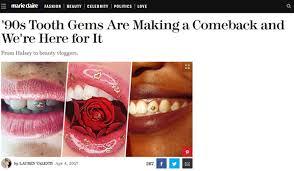 diamond stud on tooth home