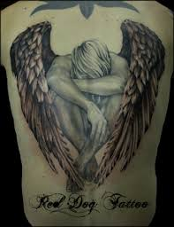 guardian angel tattoo design on back photo 1 photo pictures