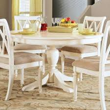 Round Pedestal Dining Table With Extension Leaf 48 Inch Dining Table With Leaf Round Modern Rectangular Pedestal