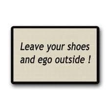 Doormat Leave Buy Clean Machine Doormat Leave Your Shoes And Ego Outside Door