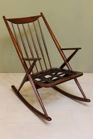 danish modern rocking chair bramin style u2014 dejavu atomic pad