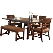 6 pc dining table set bear river 6 pc dining table set jcpenney