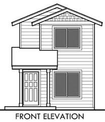 narrow lot house plan 9920 narrow small lot house plan home plans narrow