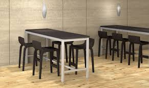Counter Height Conference Table Hi5 Table For Island Collaboration Area Wand Corp Pinterest