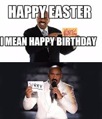Mean Happy Birthday Meme - meme creator happy easter i mean happy birthday meme generator at