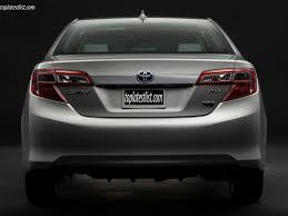 top toyota cars list of top latest hybrid cars 2017