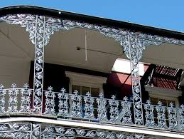 savvy housekeeping headboard from balcony railing