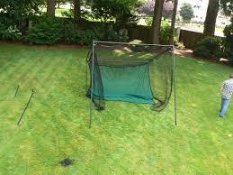 Golf Net For Backyard by Heavy Duty Golf Cage System U2013 Christensen Nets