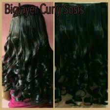 harga hair clip jual hair clip big layar curly sosis murah harga terbaru ijual